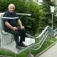 La chaise d'escalier